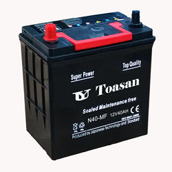 NEW!12V40AH Silver Quality SMF Calcium Maintenance Free Car Battery Toasan Brand N40MF
