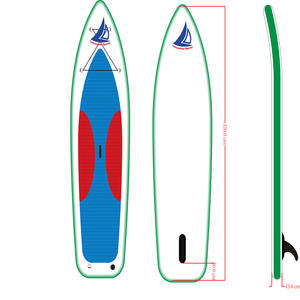 Fashion Design Opblaasbare Surf Sup Boards