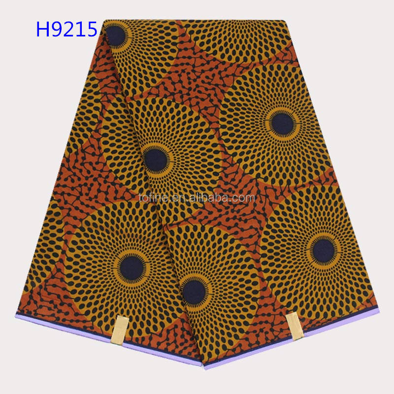 2017 wholesale new coming good quality veritable wax block prints fabric for party