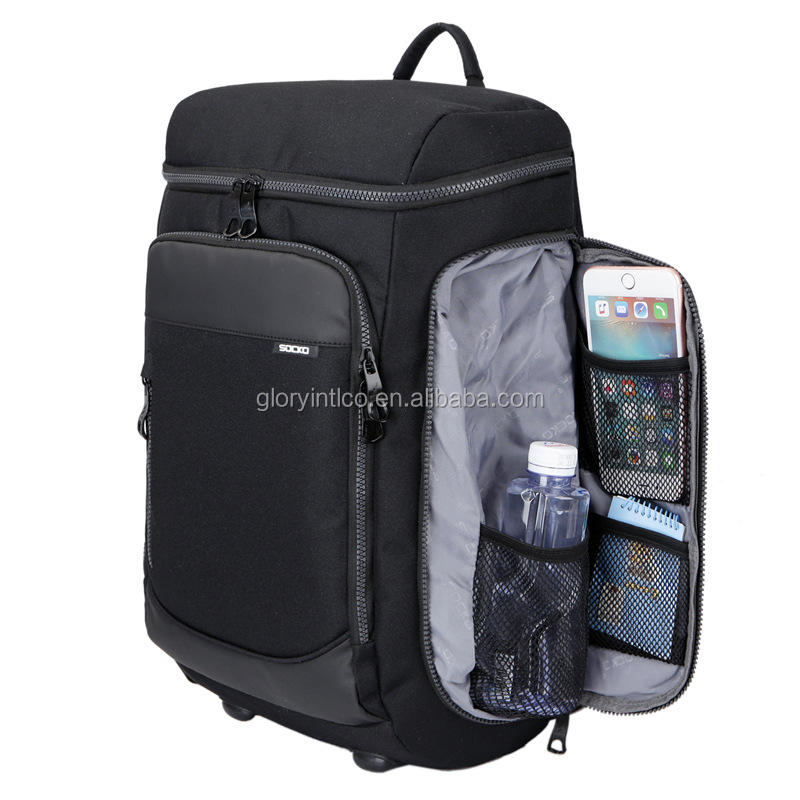 large capacity travel backpack waterproof laptop backpack with shoes compartment