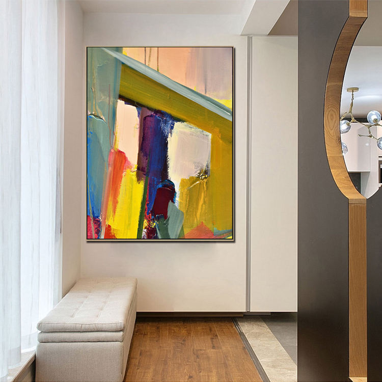 한 수 제 벽 Decor 작품 현대 Oil Painting Abstract 벽 Art On Canvas