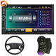 7 Touch Screen Car Stereo Bluetooth Navigation Function Mirror Link Radio FM USB SD Card Video Player