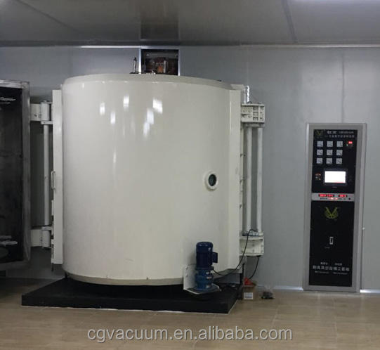 Thermal evaporation aluminum vacuum coating machine for ceramic giftcrafts