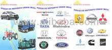 Spare Parts for Car Truck Bus Tractors and Generators