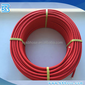 An4 AN6 An8 An10 An12 Stainless Steel Braided Red Gas Fuel Oil E85 PTFE Teflon Hose Line High Performance Racing Hose