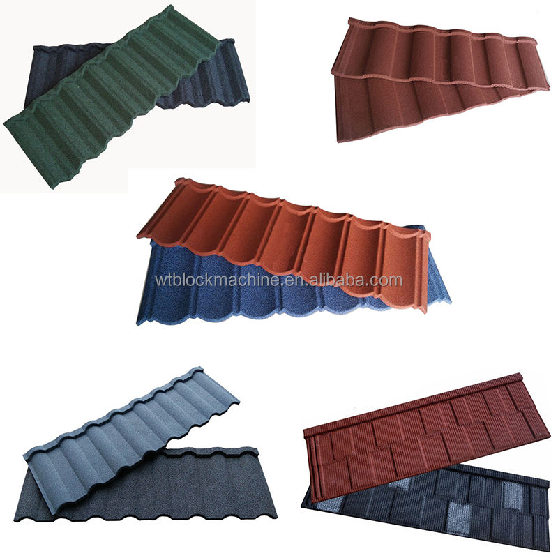 1340*420*0.4mm stone coated cheap metal roofing sheet