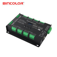 BC-632 32 channels RGB RGBW LED DMX to PWM Decoder OLED Display RDM Support 8 Bit 16bit LED Controller 32CH DMX512 Decoder