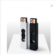 Plastic USB Lighter, Heating Wire Lighter Flameless rechargeable electric usb lighter