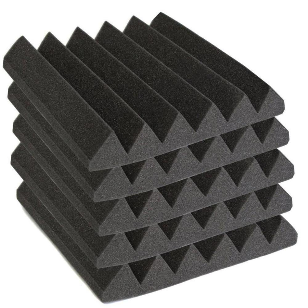 Hot Sales-High Density Wedge Type/Shaped Sound Proofing Acoustic Foam/Sponge