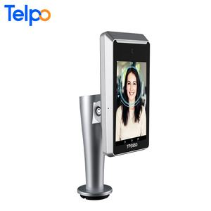 5.5-inch face recognition time attendance system biometric access control solutions airport facial recognition