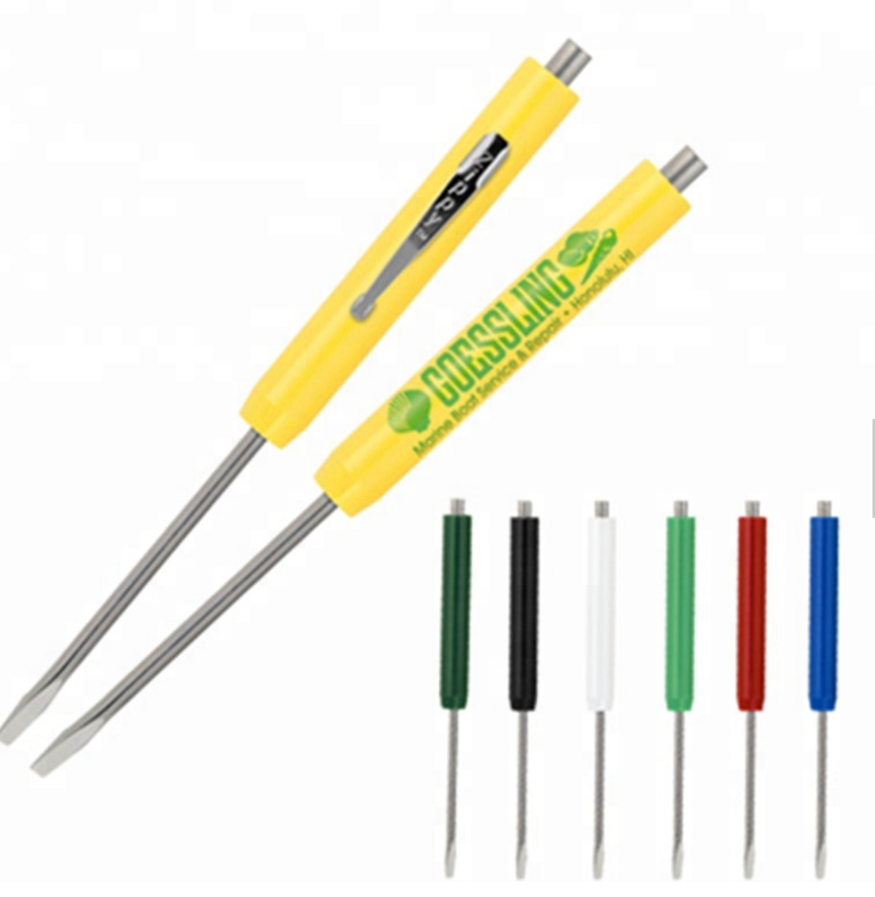 TGS028 Promotionele Pocket Schroevendraaier Precisie Schroevendraaier Pen 2-In-1 Multifunctionele <span class=keywords><strong>Magnetische</strong></span> Schroevendraaier
