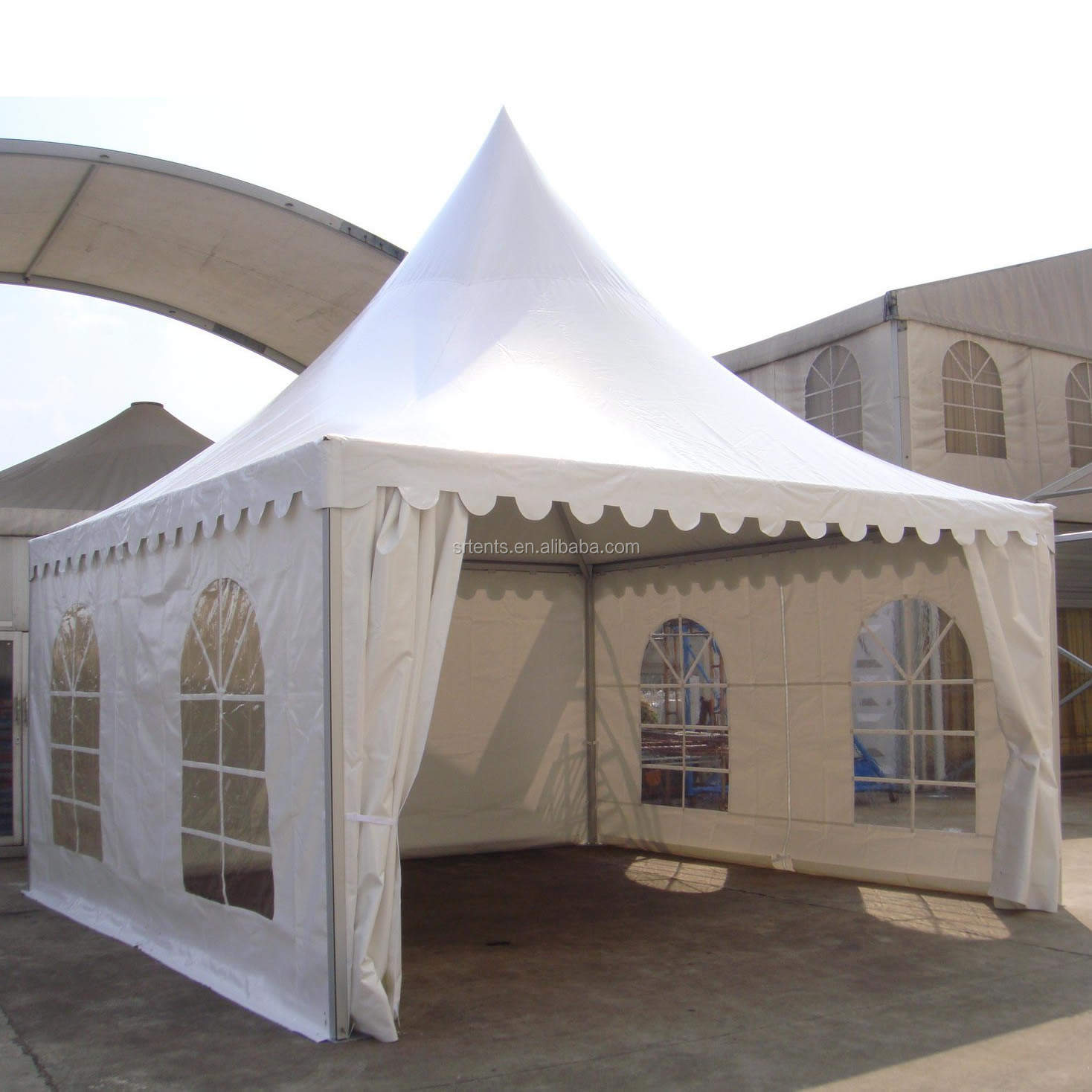 20'x20' Hot sale outdoor high peak marquee aluminum frame tent for party event