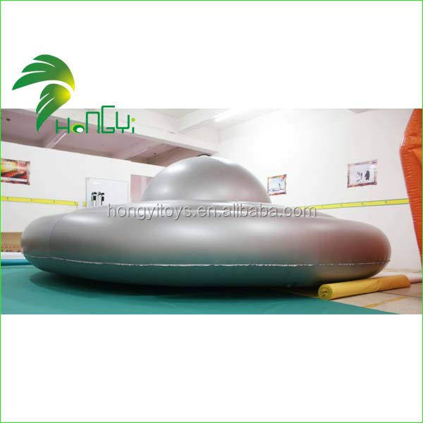 Hongyi Toys High Quality Inflatable UFO Custom Inflatable UFO Modeling with Logo Printing For Advertisement