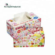 China Manufacturer Hot Sale Custom Mini Printed Tissue Box