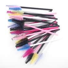 Hot Sell eyelash brush Eye Lashes Disposable Mascara Wand Eyelash Extension Brush