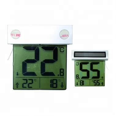 Solar fenster thermometer/Digitales Fenster thermometer