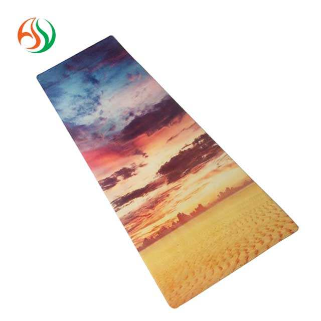 Yoga Exercise [ Yoga Mat ] AY Oem Accepted Custom Printed Yoga Mat Lululemon Rubber Yoga Mat Manufacturer From China