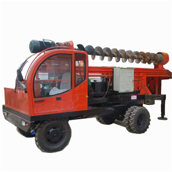15M Hydraulic rotary drilling rig, Earth boring rig bore pile machine auger boring machine