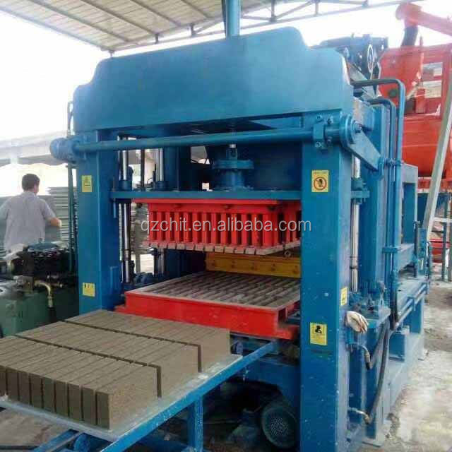 QT4-28 Automatic Concrete Brick/Block Making Machine best price