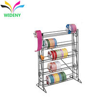 Metal Counter 5 tiers Ribbon display rack
