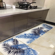 Household Multifunction Residential Anti Fatigue Pvc Customized Printed Washable Non Slip 3pc Floor Kitchen Mat