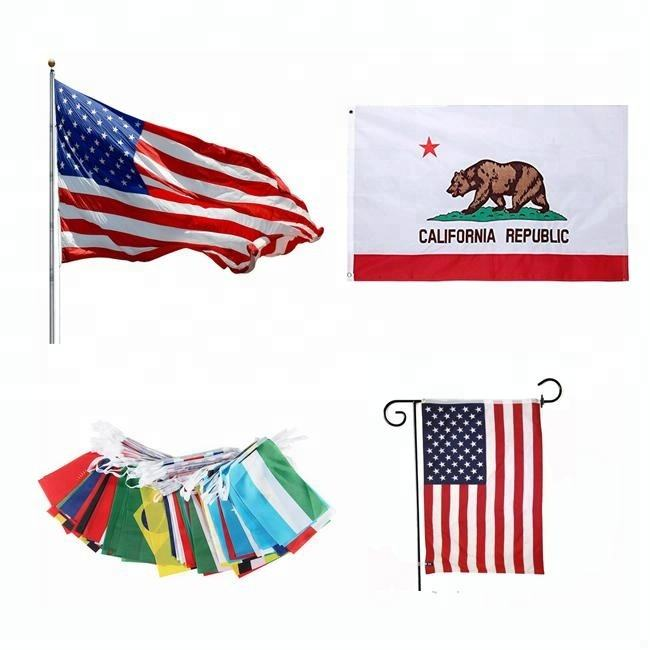 wholesale digital printing polyester national custom flag