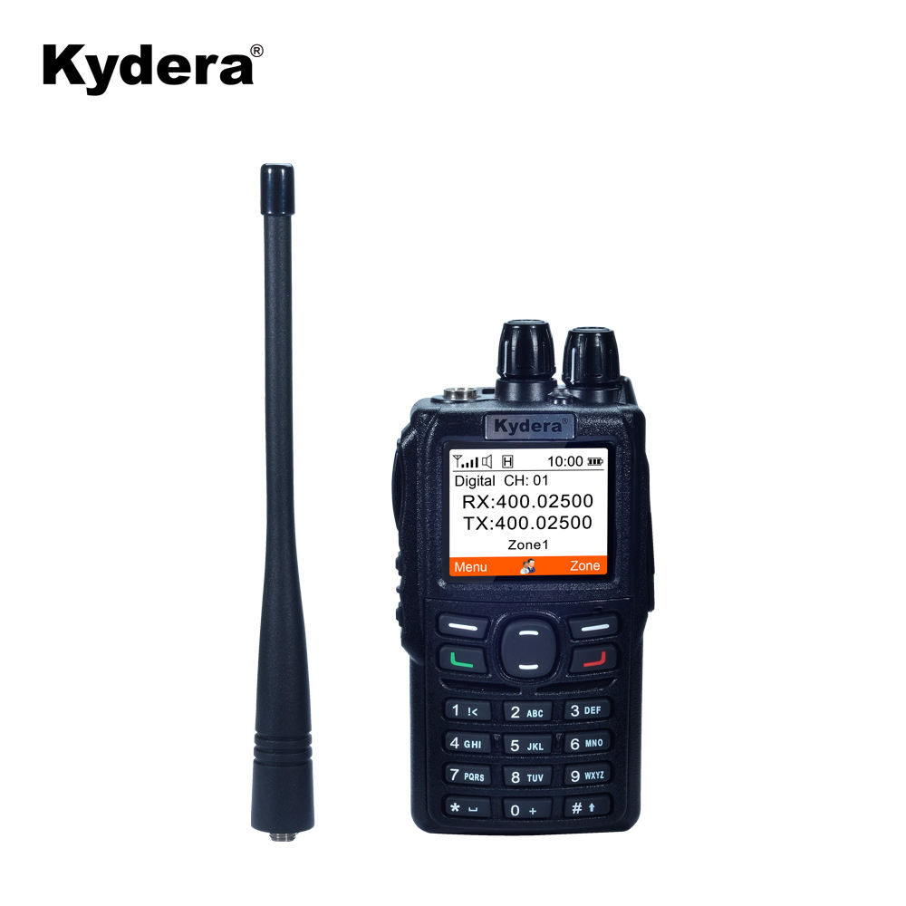 DR-850 CE FCC ROHS Kydera Digitale Dmr <span class=keywords><strong>Handheld</strong></span> <span class=keywords><strong>5w</strong></span> <span class=keywords><strong>Uhf</strong></span> Two Way Radio Walkie Talkie