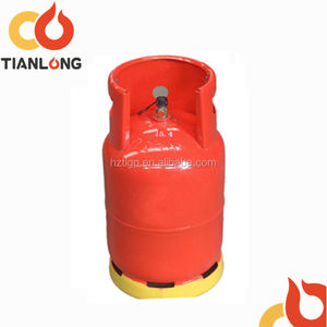 13kg 14kg cooking empty lpg gas cylinder factory sale