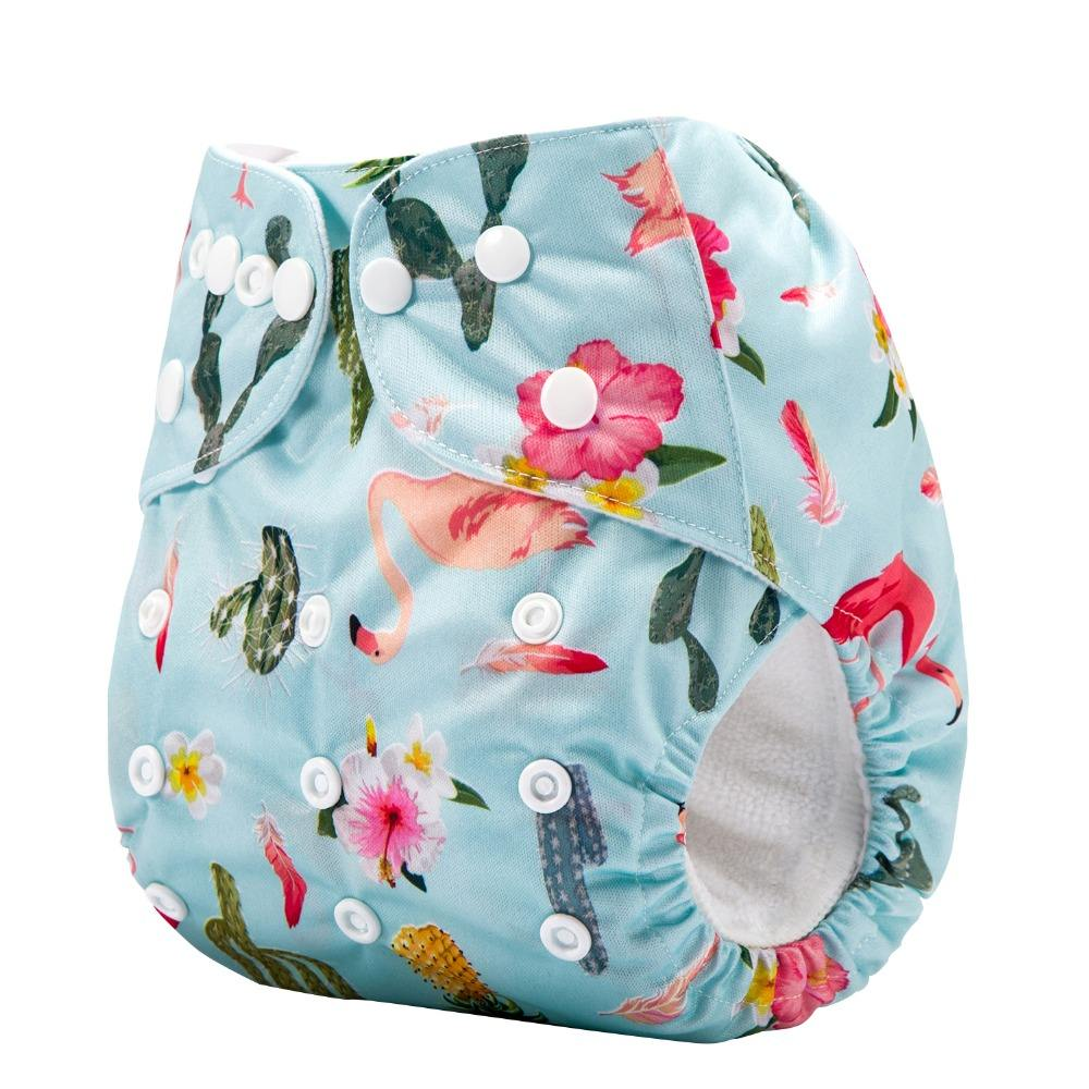 Wholesale reusable baby diapers washable nappies cloth diapersnappies Custom logo for baby nappy manufacturer Prices