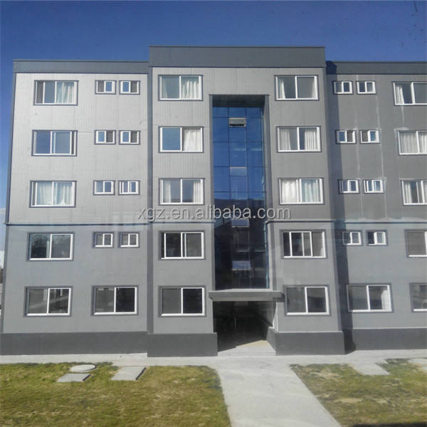 steel building multi storey prefabricated apartments