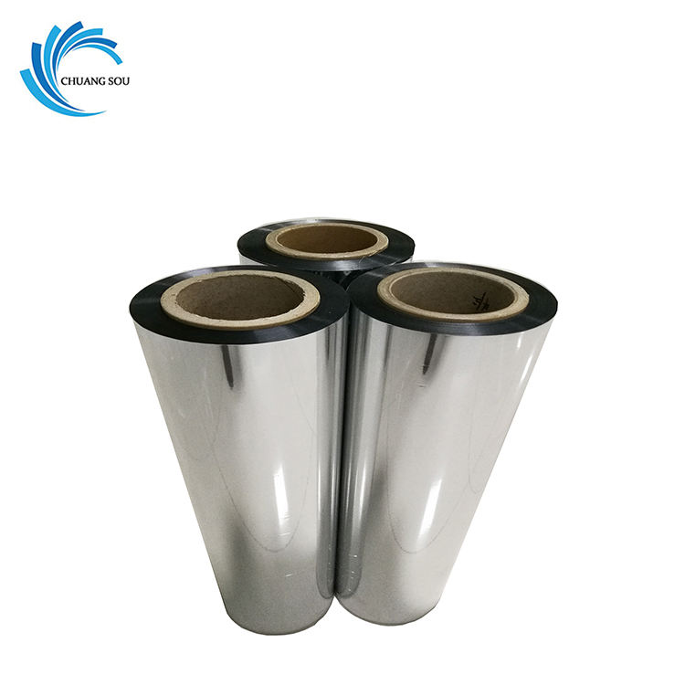 Good performance metalized insulation material aluminum metallized bopp film capacitor for construction house packaging film