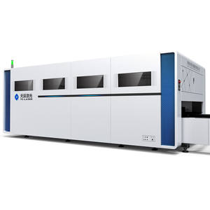 Made in China Top 10 CNC Metal Laser Cutting Machine for Steel Plate Processing Model TC-P3015 with Exchange Platform