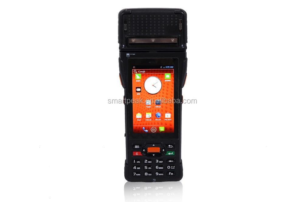 Rugged thiết bị đầu cuối POS/công nghiệp tablet với Máy In Nhiệt Nhiều thanh toán methodes/LAN tại tùy chọn/SDK demo