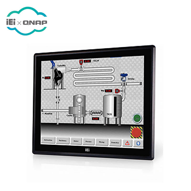 IEI DM-F19A/PC 19 pollici industriale capacitivo touch screen monitor LCD con ingresso 9 ~ 36 V DC, r20
