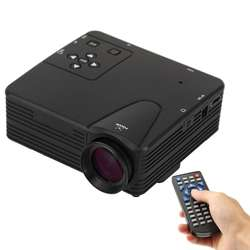 High Quality Portable 80 lumens 1080P HD Multimedia Mini LED Projector