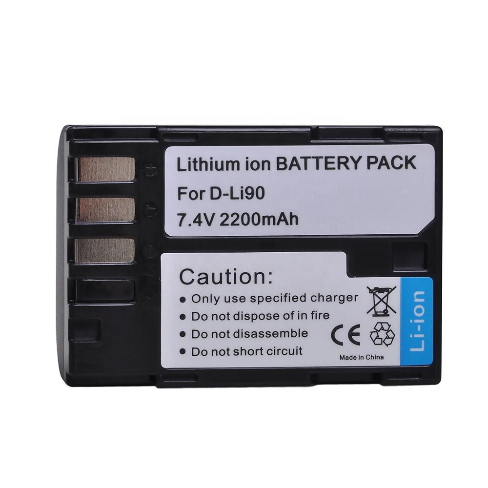 Ladegerät D-Li78 DLi78 für Pentax Optio L50 M50 M60 S1 V20 W60 W80 2 Akkus