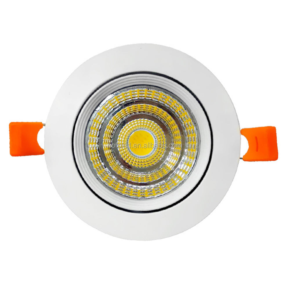 핫 세일 dimmable recessed COB 140mm 잘라 30w led 통