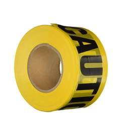 EONBON Customized Electrical Warning Yellow Caution PE Warning Tape