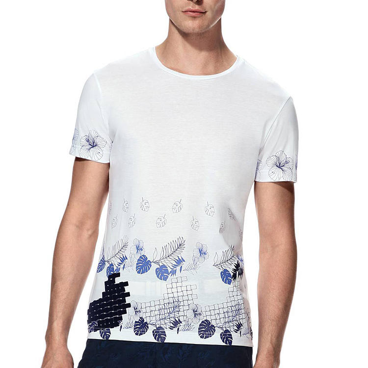 """تصميم """"تصنيع المعدات الأصلية بالجملة عالية"""" الجودة 100% ز 180 البوليستر النسيج الرقمية الطباعة بيضاء اللون المخصص لك قميص تي الخ"""