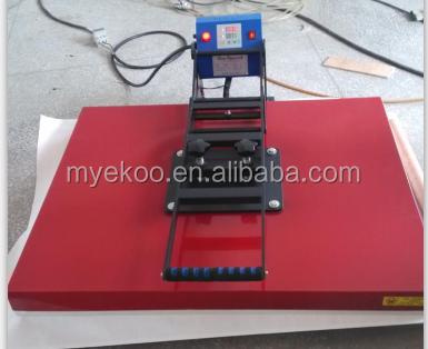Tamaño grande 80*100 cm máquina de prensa de calor utilizado para camisetas en dinamarca