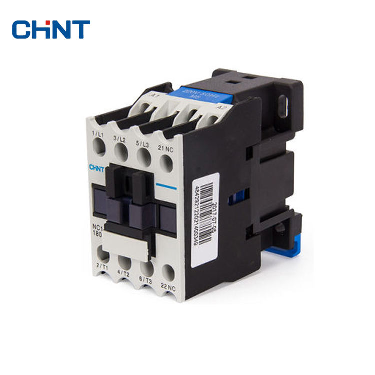CJX2-1810 18Amp AC Contactor Rail Mount Industrial Electric Contactor 380V AC