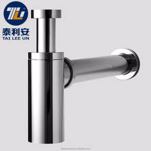 Durable lavatory under sink basin waste water plumbing trap types