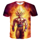 Poresmax Brand Dragon Ball T Shirt 3d T-shirt Anime Men T Shirt Funny T Shirts Hip Hop Japanese Men's Clothes Vintage Clothing