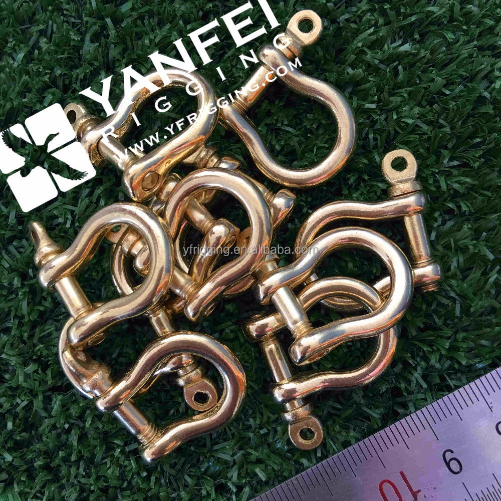 25 mét Solid Brass Bow Shackle