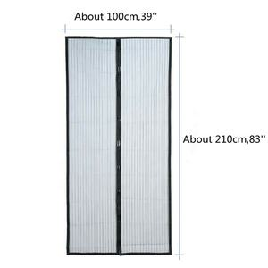 Easy install anti fly magnetic screen door lowes