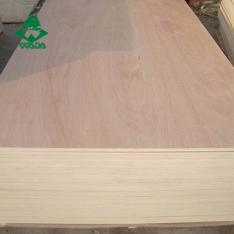9mm 12mm 15mm 18mm thickness okoume plywood for furniture