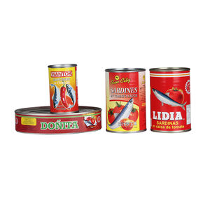 425g good canned sardines/mackerel/tuna fish from Fujian