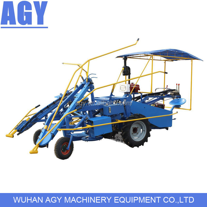 AGY self-propelled whole stalk cane harvester sugar cane cutter