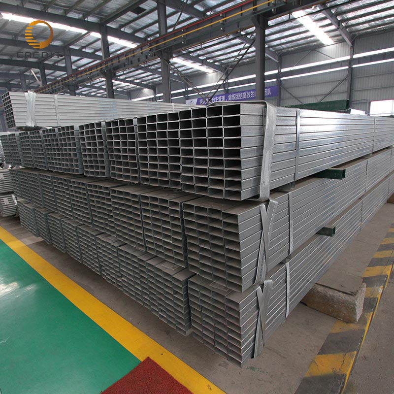 erw welded thin wall steel supplier 75x75 tube box bar gi square pipes