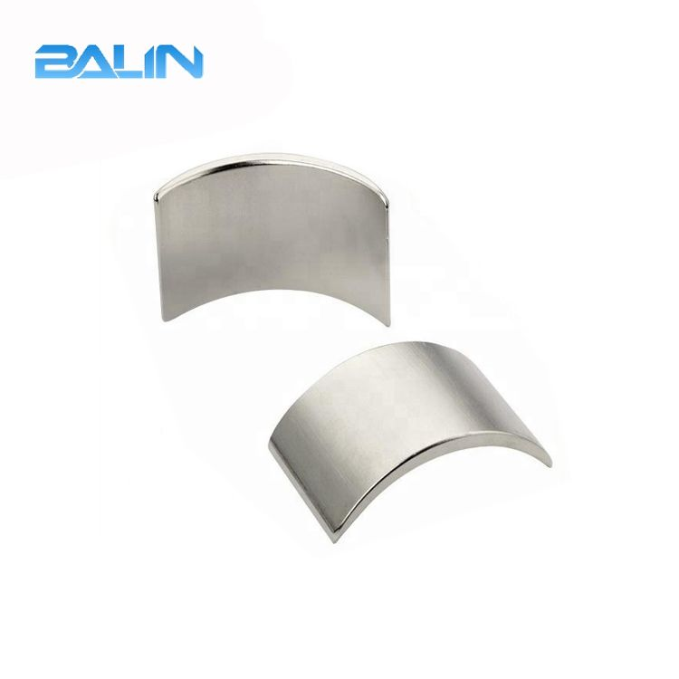 Full grade electric ndfeb arc magnet for motor 35sh 40sh 42sh segment magnet
